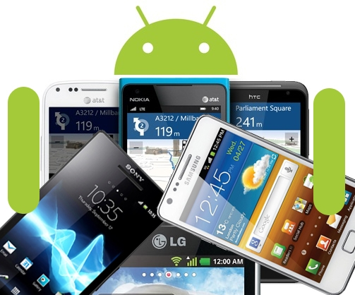 The Android is among us 4 cell with the operating system Google