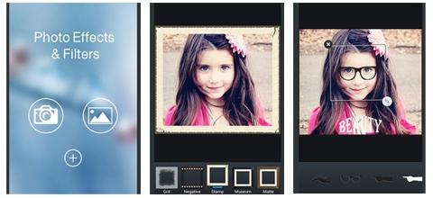 معاينة برنامج تصميم الصور واضافة التأثيرات للأندرويد جلاكسي