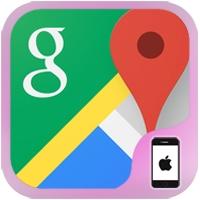 خرائط جوجل للايفون والايباد Google Maps