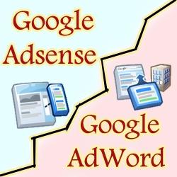 Google Adsense AdWord difference