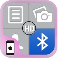 تطبيق ارسال الملفات والبرامج بلوتوث للايفون