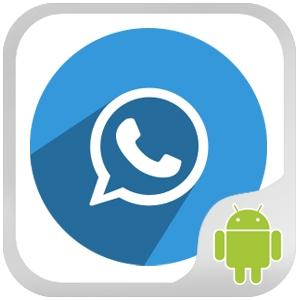 برنامج الواتس اب بلس الازرق للجوال اندرويد سامسونج